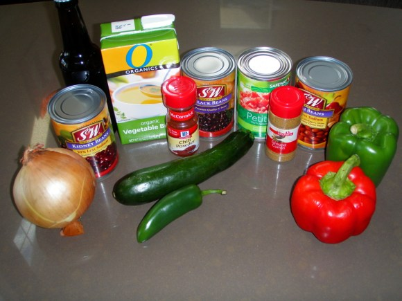 chili made with beer recipe