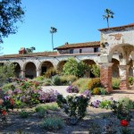Visiting the San Juan Capistrano Mission, California