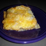 Beer Scalloped Potatoes Recipe