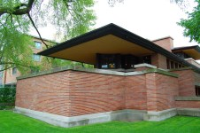 Frank Lloyd Wright's Robie House, Hyde Park Illinois