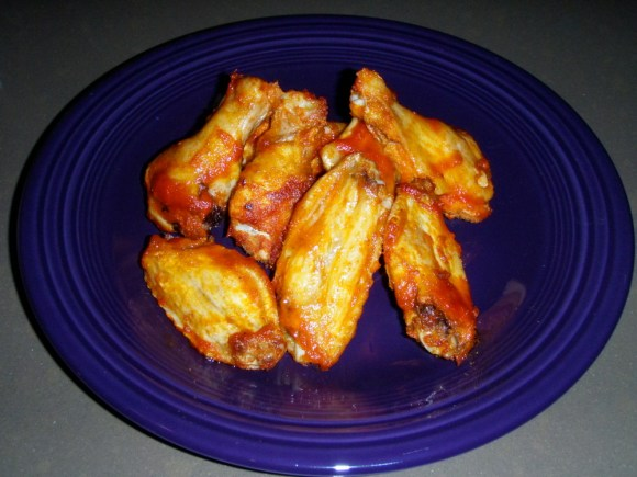 Beer Brined Buffalo Wings