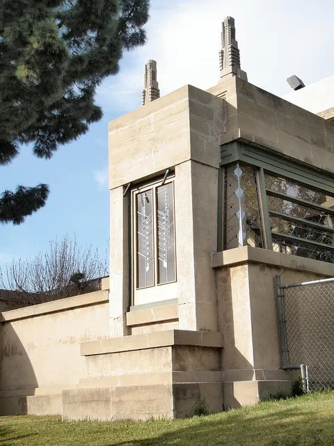 hollyhock house los angeles california