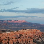 The Sun Sets On Bryce Canyon National Park