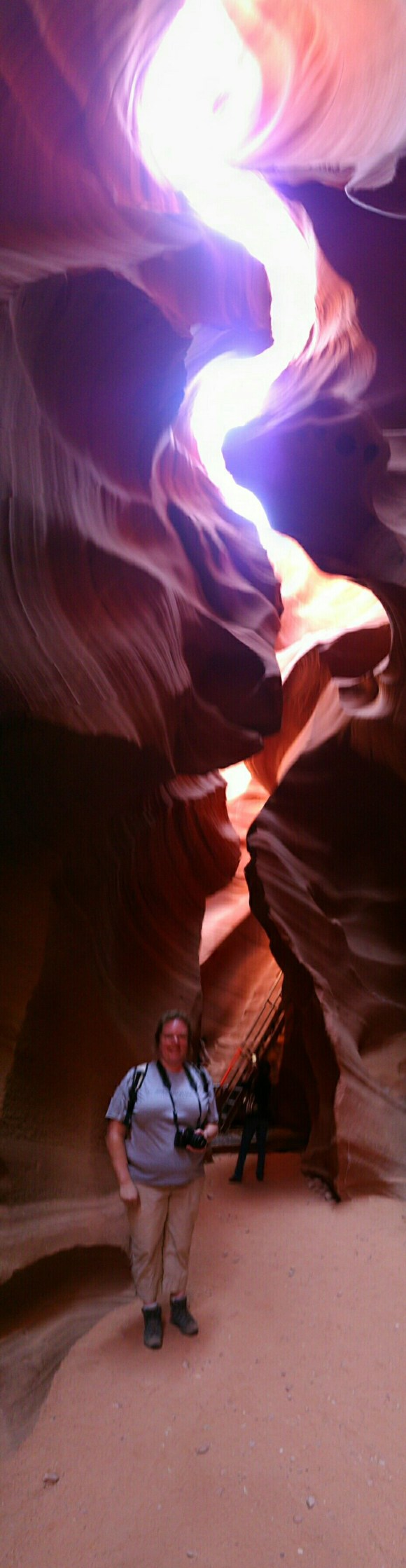 Touring Lower Antelope Canyons, Page Arizona