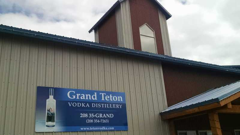 Grand Teton Distillery Driggs Idaho