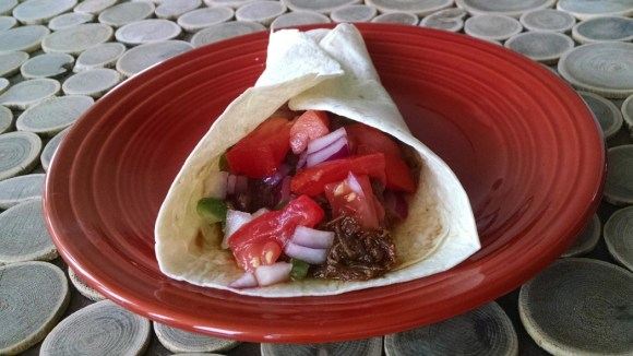 Chiptole Stout Braised Beef Tacos