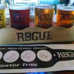 I drink the Beard Beer at Rogue Ales Public House Astoria Oregon