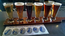 Milestone Beer Drinking At Boise Brewing Boise Idaho