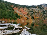 Hiking Stevens Lake Trail, Mullan Idaho