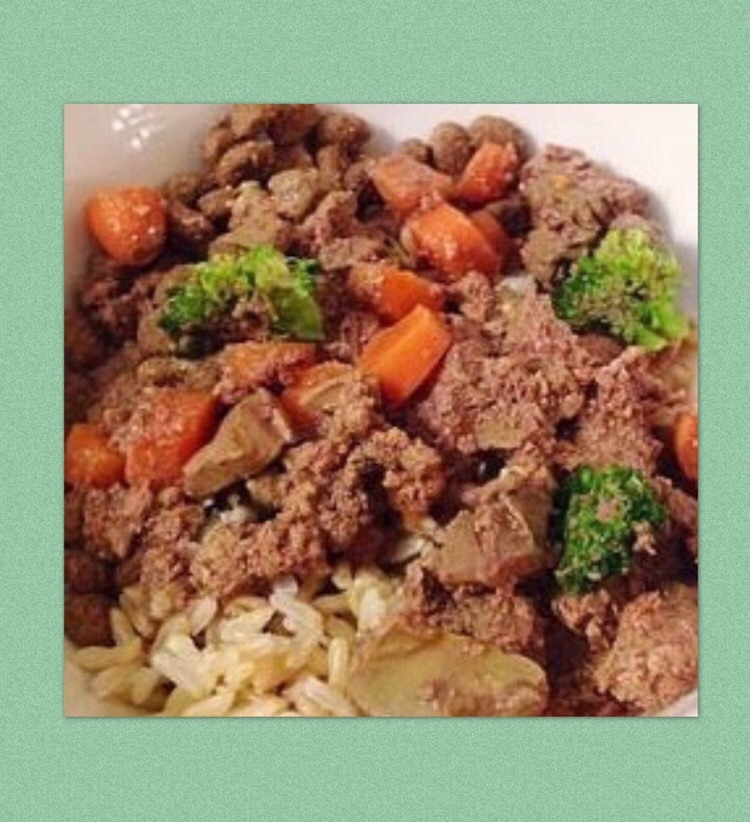 Chicken liver veggie stew paws give me purpose chicken liver veggie stew looking for a homemade dog food recipe forumfinder Image collections