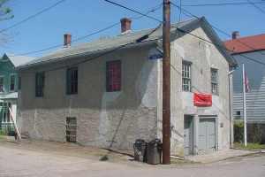 Armory Hall Before Restoration
