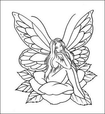 Diseños para tatuajes femeninos de hadas