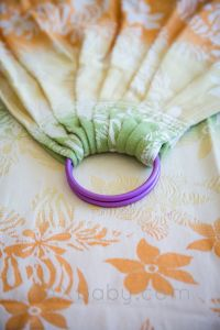 PAXbaby-SBP Ready Made wrap conversion ring sling ...