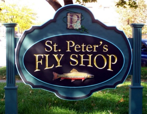 handcrafted signs st. peters photo