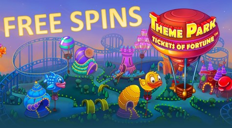 themepark free spins