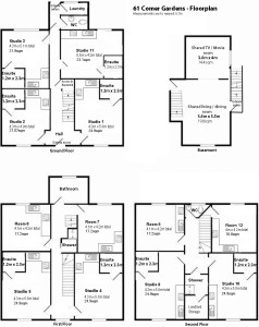 Comer Gardens floorplan