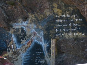 Mural En El Centro