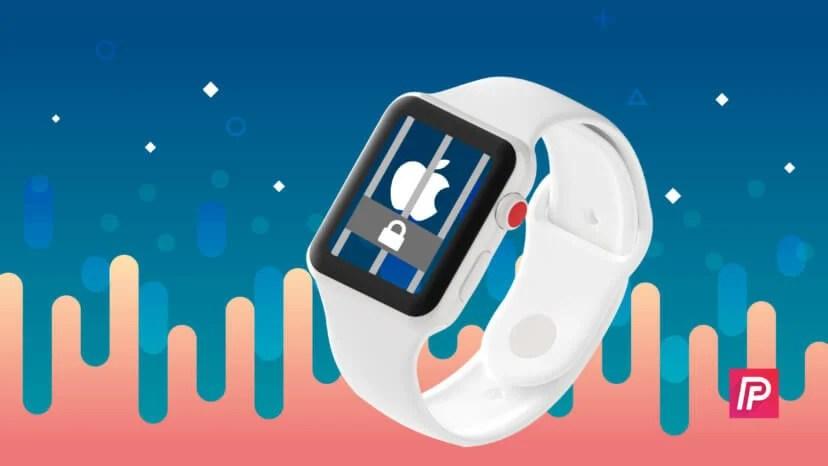 apple watch stuck on