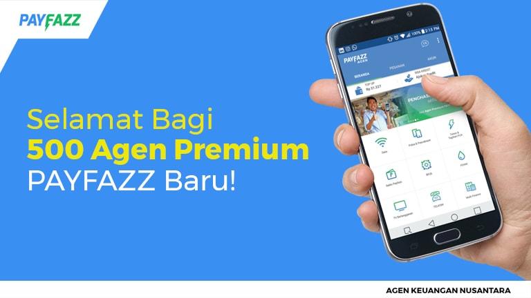 Selamat Bagi 500 Agen Premium PAYFAZZ Baru!