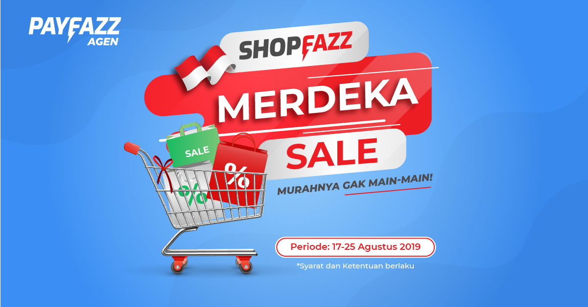 Belanja di Shopfazz Merdeka Sale, Murahnya Gak Main-Main!