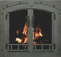 Stoll Fireplace Inc Glass and Mesh Doors and Hanging Mesh ...
