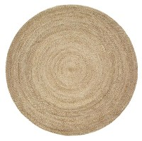 LR Resources Natural Jute 12033 Gray Rug