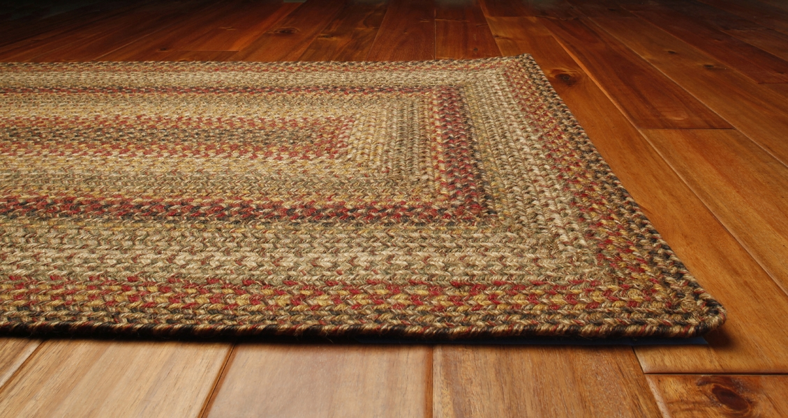 Kingston Braided Rug by Green World  Homespice