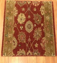 "Patina PA02 Cherry Carpet Hallway and Stair Runner - 30"" x ..."