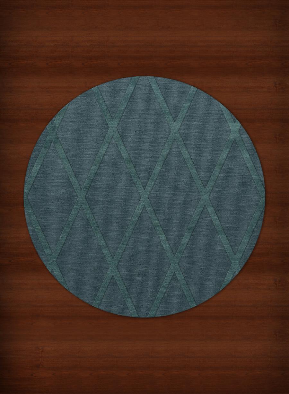 teal round rug  Home Decor