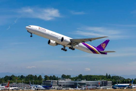 THAI receives 777-300ER direct delivery