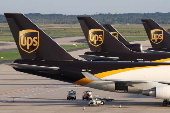Healthy Q1 for UPS, Asia export growth offsets US softness