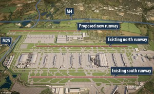 Airports Commission advocates Heathrow 3rd runway