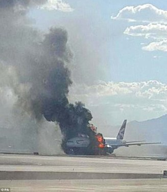 Engine fire forces BA 777 to abort take off