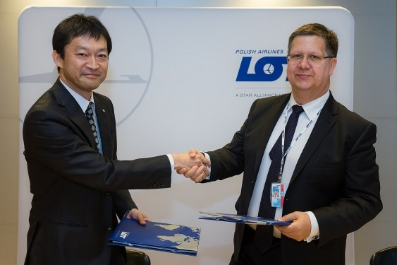 LOT and JAL announce cargo cooperation