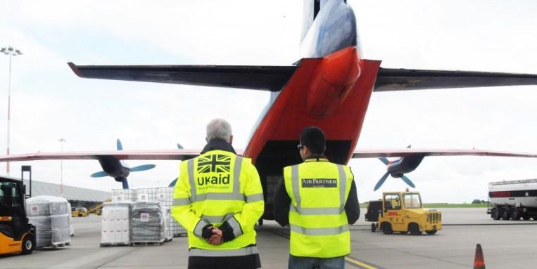 Air Partner Ebola aid