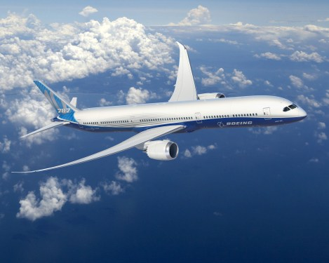 Boeing completes detailed B787-10 design