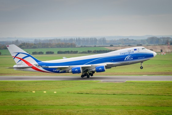 World's newest all-cargo carrier, CargoLogicAir (CLA) takes off