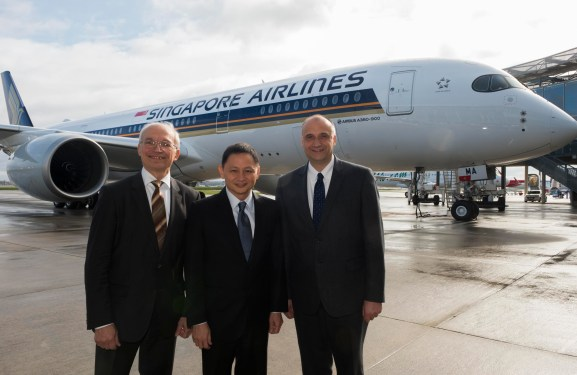 Singapore Airlines takes delivery of first A350-900