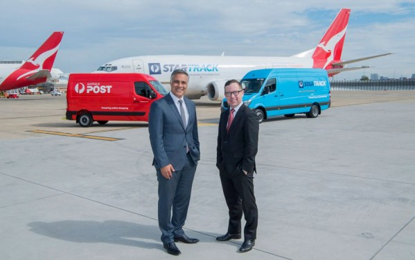 Australia Post, Qantas set to launch StarTrack's domestic freighter network