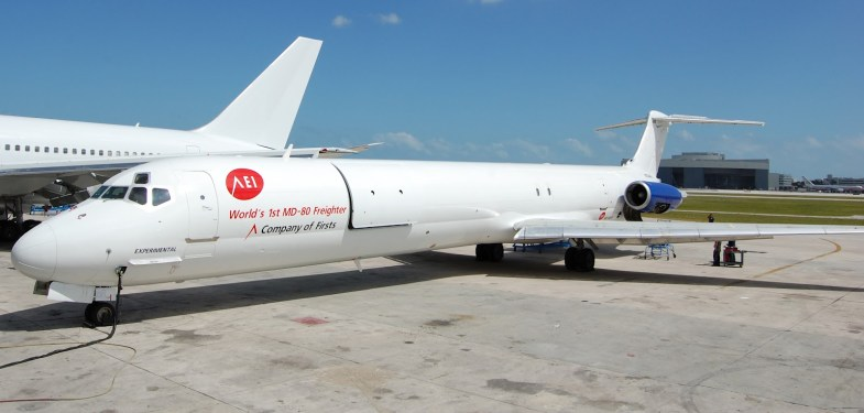 AEI announces order for fourth MD-80SF series freighter conversion