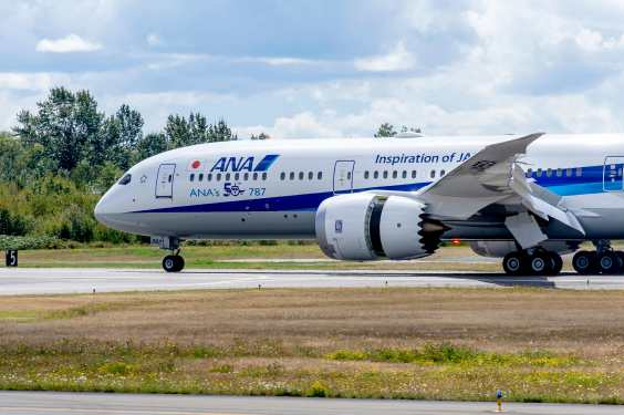 Boeing delivers 50th B787 Dreamliner to ANA