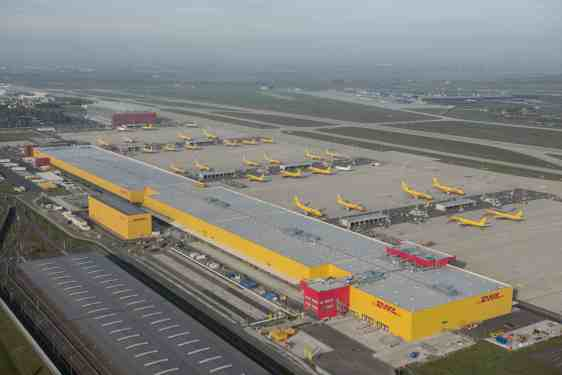 DHL Express opens new €230 million Leipzig sorting centre
