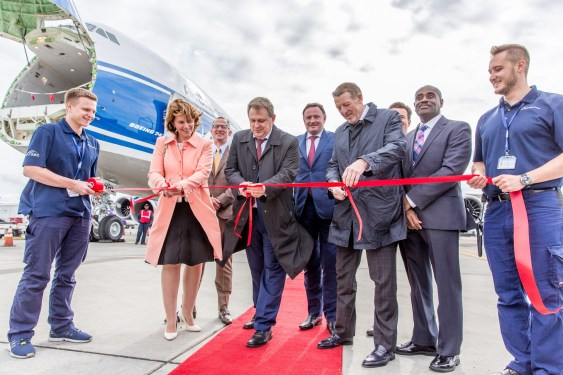 Volga-Dnepr takes delivery of 10th B747-8 Freighter