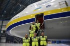 ANTONOV Airlines transports giant helicopter from its new UK headquarters