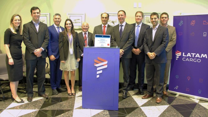 LATAM Cargo – first airline in the Americas to obtain CEIV Pharma certification