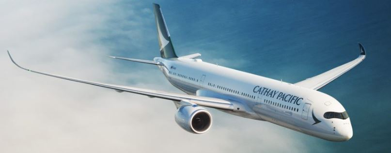 Cathay Pacific combined traffic figures for June 2017