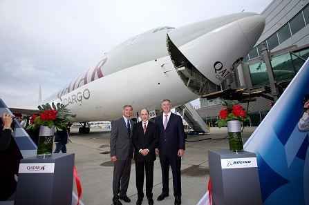 Qatar orders two 747-8Fs, boosts 777 orderbook