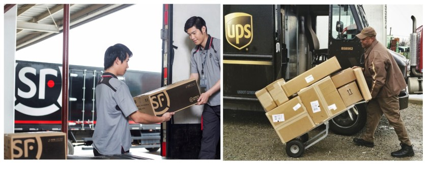 UPS and SF receive regulatory approval in China