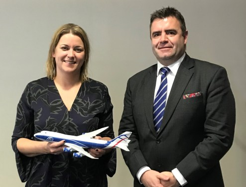 CargoLogicAir meets Aviation Minister