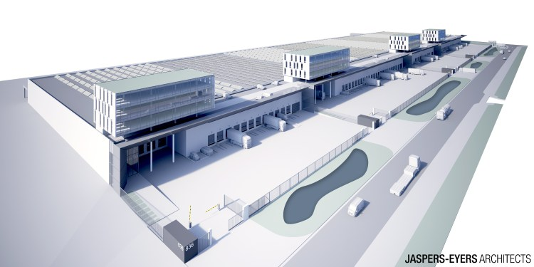 Brussels Airport invests in logistics buildings